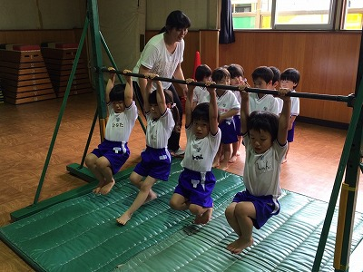 体操は、レベル高し!!